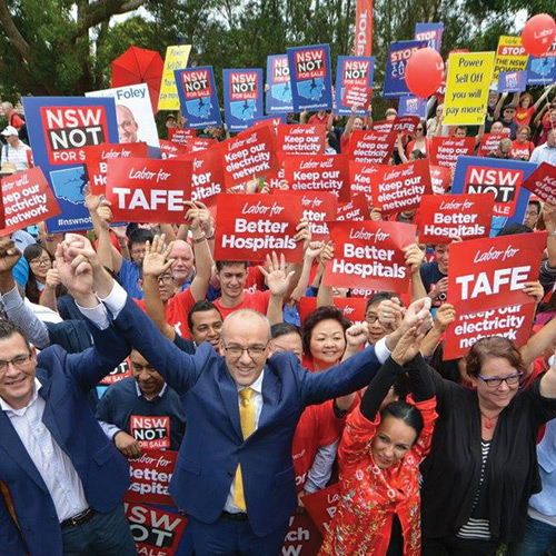 NSW Election Campaign 2015