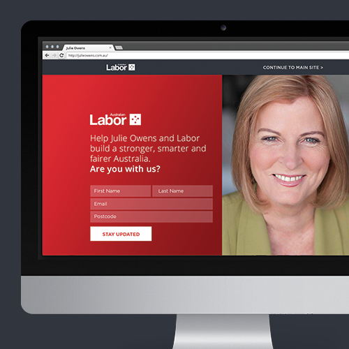 ALP Candidate Campaign Websites